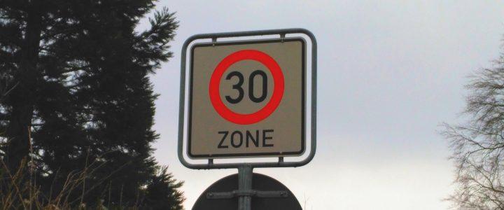 Geschwindigkeitsreduzierung – Stellungnahme zum Zeitungsartikel vom 17.02.2017